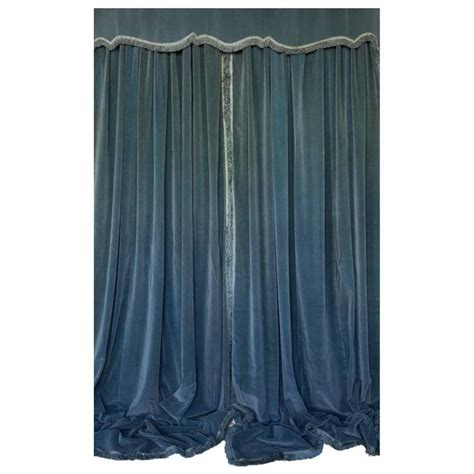 Blue Velour Curtains Blue Velour Curtains Blue Velvet Dual Tab Top Curtain World Market Blue 72 Quot H Velvet