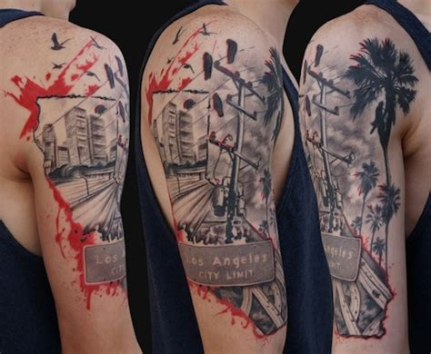 los angeles tattoo 20 best los angeles tattoos