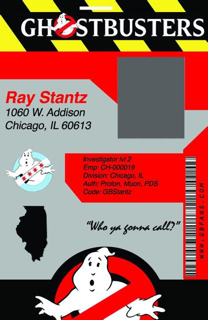 ghostbusters id card template design the new ghostbusters fans membership badge page 8
