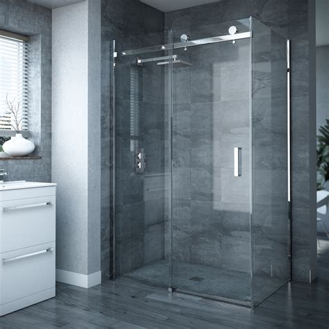Nova Frameless 900 X 1200mm Sliding Door Panel D005 Shower Enclosures Sliding Doors