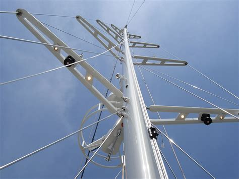 mast zeilboot spreader sailboat wikipedia