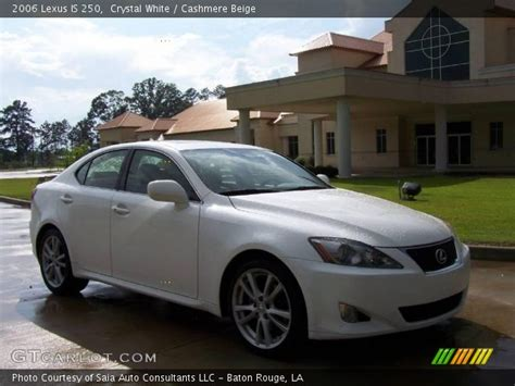 white lexus is 250 interior white 2006 lexus is 250 beige