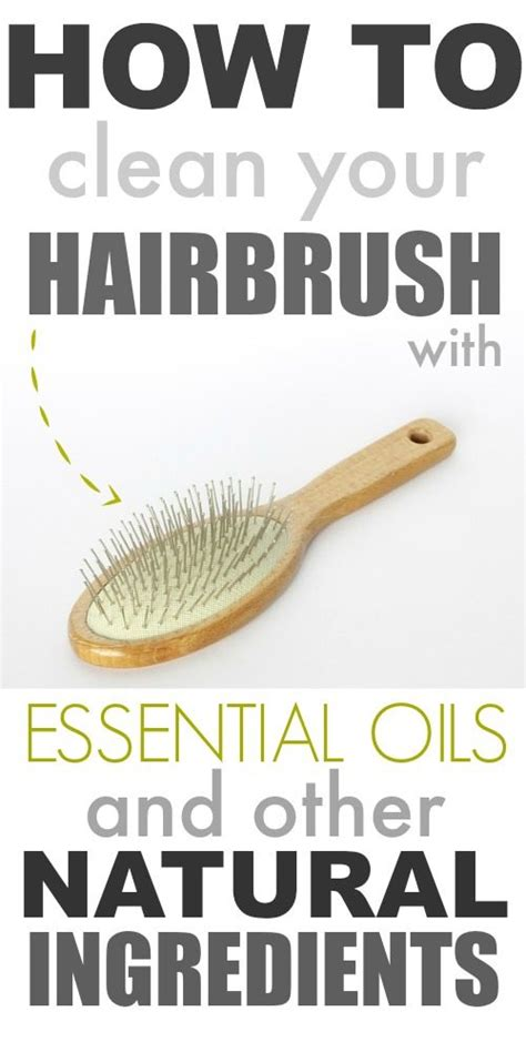 is it ok to wash your hair before coloring it how to clean your hairbrush with essential oils the