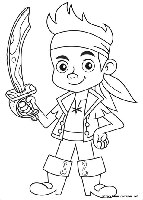 dibujos para pintar jake y los piratas dibujos para colorear de jake y los piratas del pa 237 s de