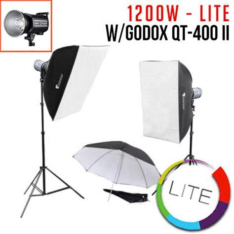 Godox Qt 400 Ii godox 400 flash kit godox qt400 2 flash godox lighting
