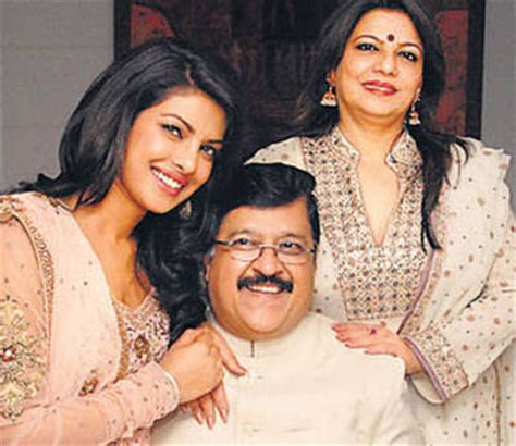 priyanka chopra photos with family bollywood actress priyanka chopra father and mother