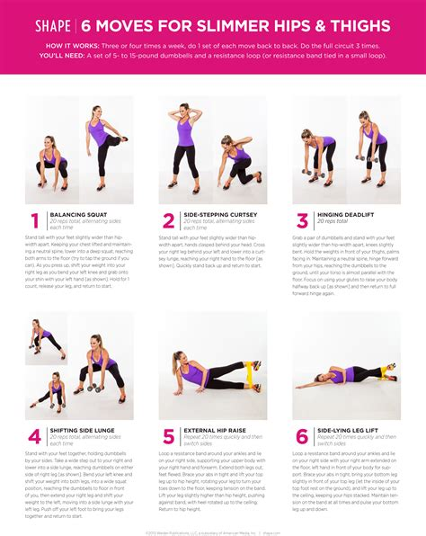 the best exercises for 6 for slimmer