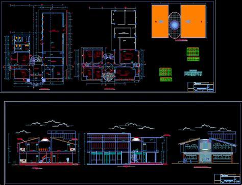 community center dwg plan  autocad designs cad