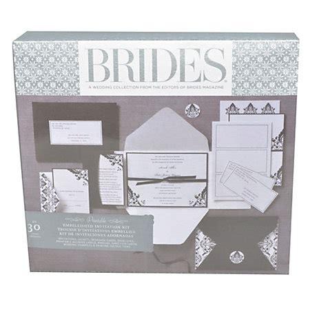 Wedding Invitations Officemax by Brides Premium Blackwhite Invitation Kit 5 X 7 Pack Of 30