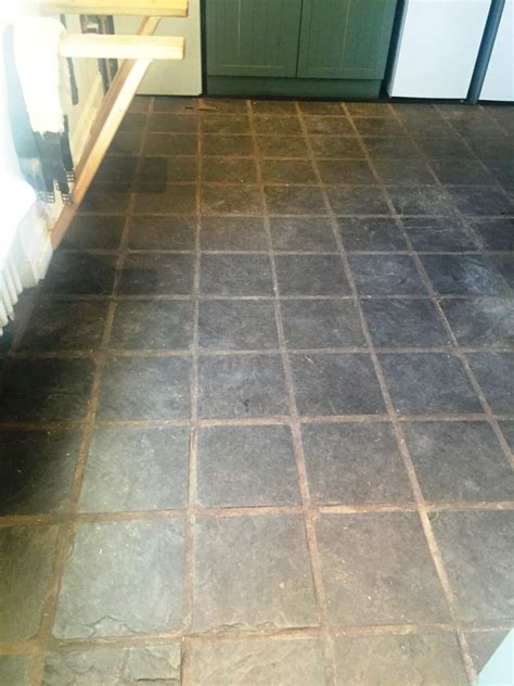 remove wax slate floor home fatare