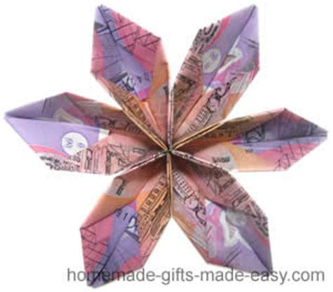 Origami Flower Money - origami money flowers an easy 5 minute design money origami