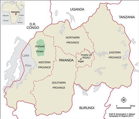 rwanda map rwanda map districts images