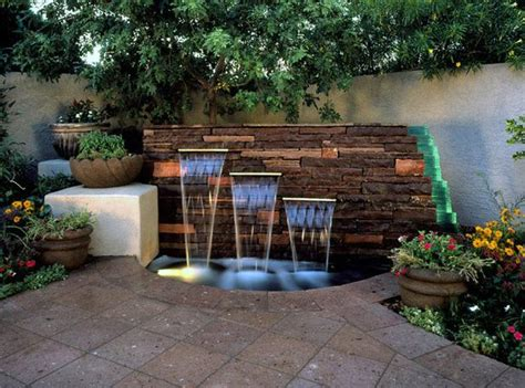 Backyard Water Features Ideas by Amazing Water Feature Ideas Garden