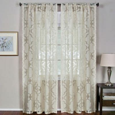 bedbathandbeyond curtains window curtain panels and window curtains on pinterest