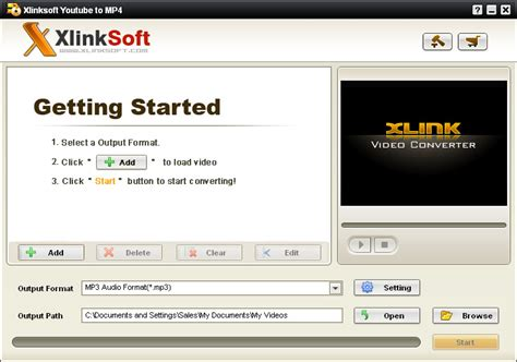 mp4 format converter youtube xlinksoft youtube to mp4 converter
