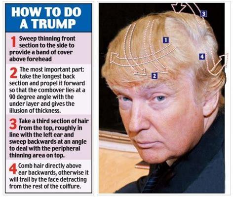 how to do a combover billionaire gambler donald trump hair