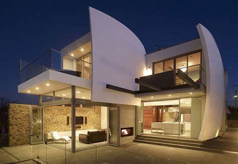futuristic house design with futuristic architecture in australia luxurious