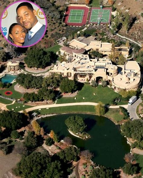 celebrity mansions will and jada pinkett smith celebrity dream homes us