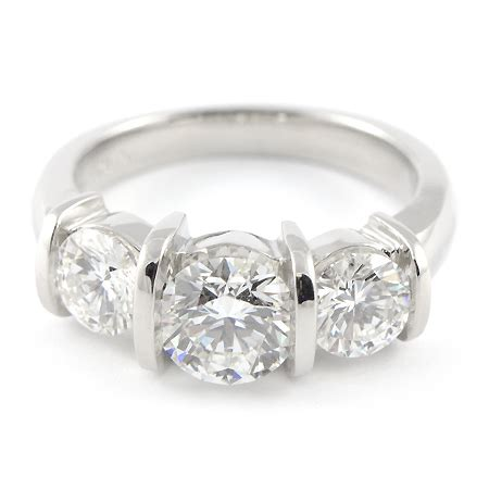 custom platinum engagement ring from minnesota wixon