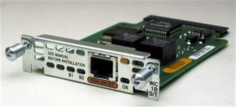 Modul Cisco Wic 1b S T cisco wic 1b s t 1 port isdn wan interface card