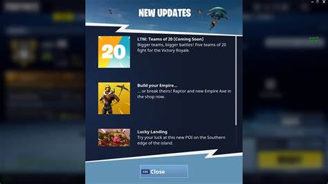 what fortnite team is on fortnite teams of 20 is the next limited time mode mp1st