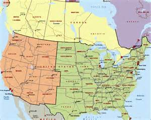 maps of usa and canada canada us map with cities