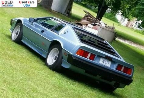 tire pressure monitoring 1984 lotus esprit turbo parking system for sale 1986 passenger car lotus esprit colchester insurance rate quote price 11899 used cars