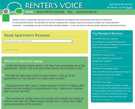 Appartment Rating by Apartment Review Website Partnership Announced Renter S