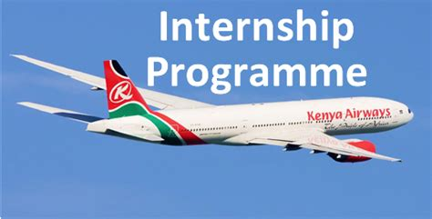 American Airlines Mba Intern by Kenya Airways Internship Program 2018 For Kenyans
