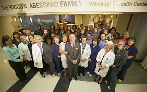 Wilmington Healthcare Mba by Christiana Care Unveils The A Abessinio Family