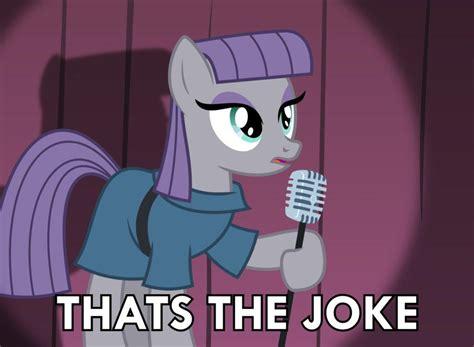 The Jokes pony joke that s the joke your meme