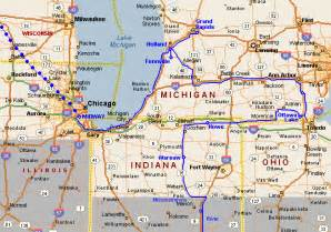 Map Of Michigan And Ohio by Bouwman S 2002 Trip