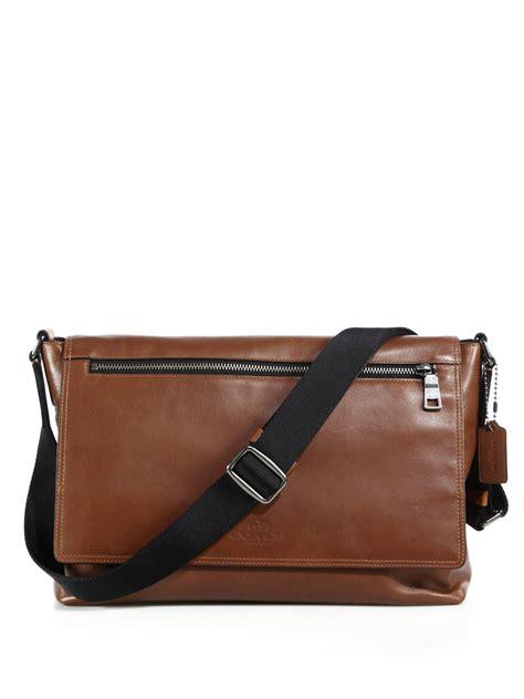 Coach Bag Mens Shoulder Bag Sullivan Signature Pvc Small Messenger coach messenger bag sullivan coach outlet