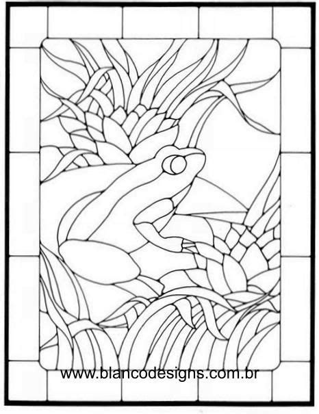 glass frog coloring page 83 best stained glass frogs images on pinterest frogs