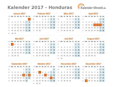 Honduras Kalender 2018 Feiertage 2017 Honduras Kalender 220 Bersicht