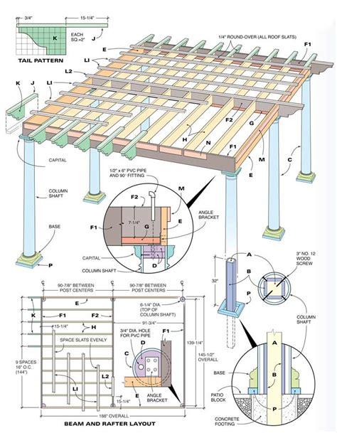 pergola design ideas 12x12 pergola plans best construction