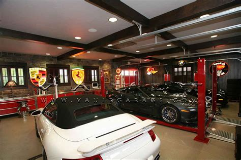 Custom Garage Designs custom garage design and furnished by vault 174 our passion