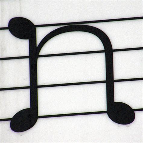 N Note Pronto N Notes n musikv 228 gens konditori one of the musical note letters flickr