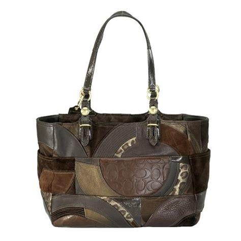 Coach Patchwork Handbags - coach gallery mosaic patchwork tote