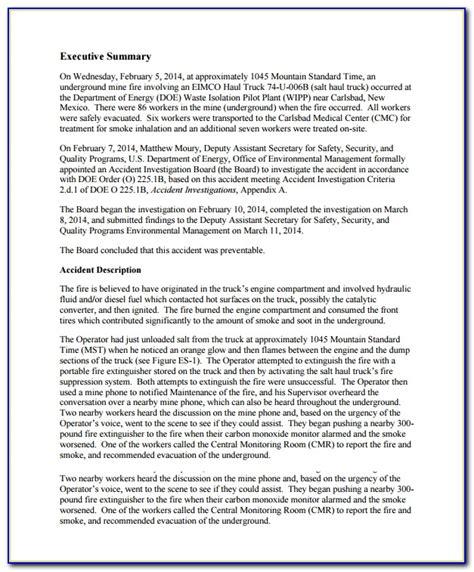 incident investigation report template alberta