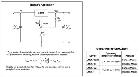 Lm317t 12 37v To 221 lm317t datasheet meta search