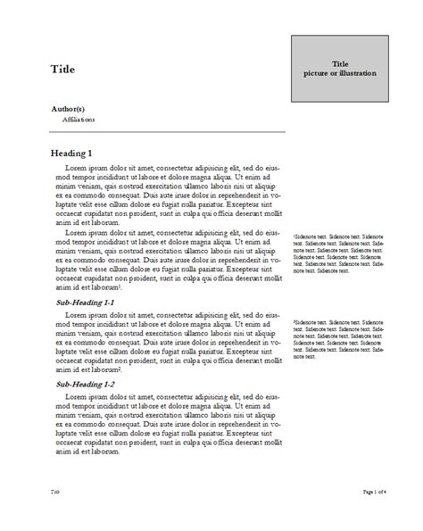 Presentation Handout Template Word Handout Templates Template For Ms Lfrwkxec Aplg