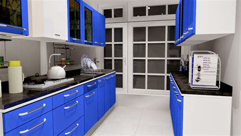 Parallel Kitchen Ideas | five basic shapes of modular kitchen designs from