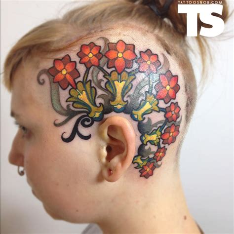 head tattoos images designs