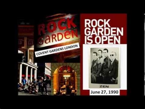 zen live at the rock garden in covent gardens june 27th