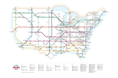 map us highway routes interstate highway as metro information design at penn