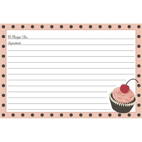 cupcake recipe card template 1231 best printable recipe cards images on