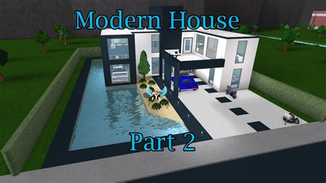 1 floor mansion bloxburg lets build bloxburg modern house part 2