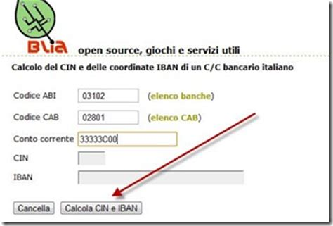 calcolo iban banca vlxx cin seterms