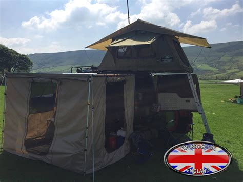 side awning tent 4x4 land rover side awning ground tent combo www fourby